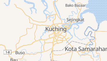 Carte en ligne de Kuching