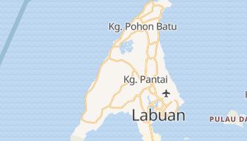 Carte en ligne de Labuan