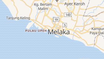 Carte en ligne de Melaka