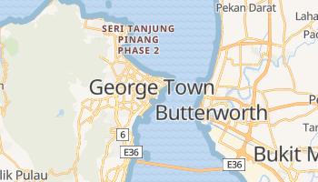 Carte en ligne de Penang