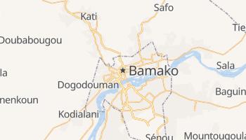 Carte en ligne de Bamako