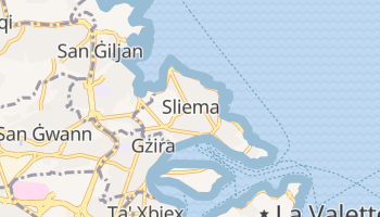 Carte en ligne de Sliema