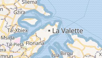 Carte en ligne de La Valette