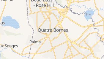 Carte en ligne de Quatre Bornes