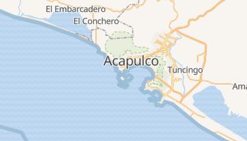 Carte en ligne de Acapulco de Juárez