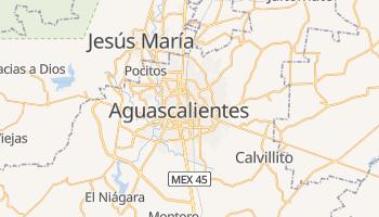 Carte en ligne de Aguascalientes