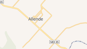 Carte en ligne de Allende