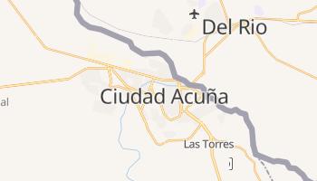 Carte en ligne de Ciudad Acuña