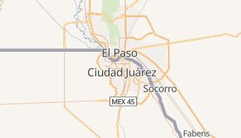 Carte en ligne de Ciudad Juárez