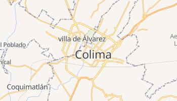 Carte en ligne de État du Colima