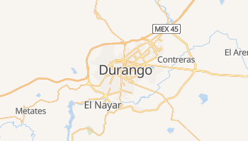 Carte en ligne de État du Durango