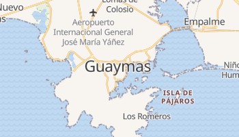 Carte en ligne de Guaymas