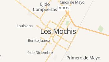 Carte en ligne de Los Mochis
