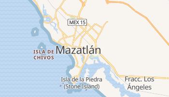 Carte en ligne de Mazatlán