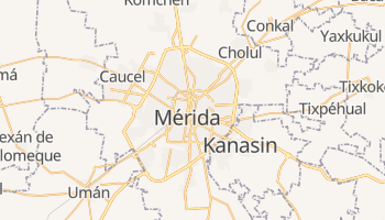Carte en ligne de Mérida