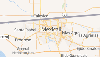 Carte en ligne de Mexicali