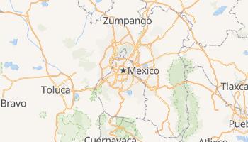 Carte en ligne de Mexico