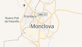 Carte en ligne de Monclova