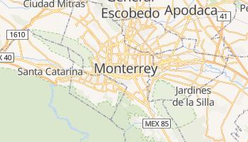 Carte en ligne de Monterrey