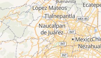 Carte en ligne de Naucalpan