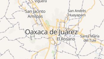 Carte en ligne de Oaxaca