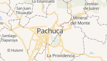 Carte en ligne de Pachuca