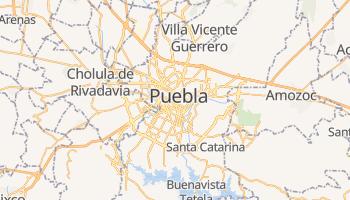 Carte en ligne de État de Puebla