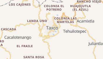 Carte en ligne de Taxco