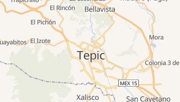 Carte en ligne de Tepic