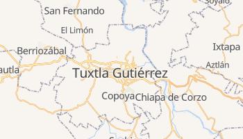 Carte en ligne de Tuxtla Gutiérrez