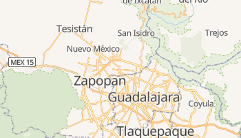 Carte en ligne de Zapopan