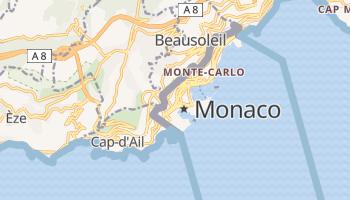 Carte en ligne de Principauté de Monaco