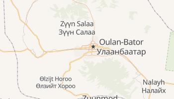 Carte en ligne de Oulan-Bator