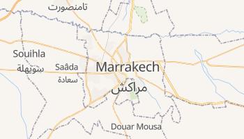 Carte en ligne de Marrakech
