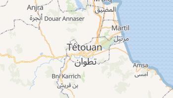 Carte en ligne de Tétouan