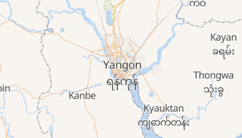 Carte en ligne de Rangoon
