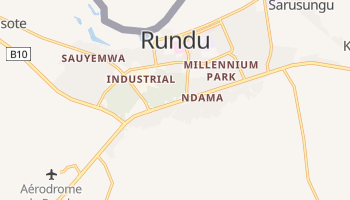 Carte en ligne de Rundu