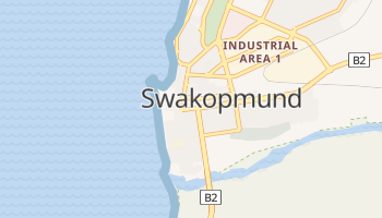 Carte en ligne de Swakopmund