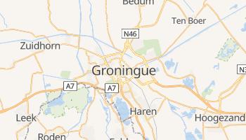Carte en ligne de Groningue