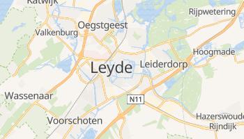 Carte en ligne de Leyde