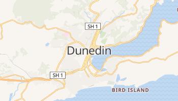Carte en ligne de Dunedin