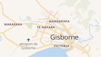 Carte en ligne de Gisborne