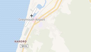 Carte en ligne de Greymouth