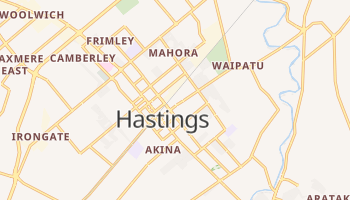 Carte en ligne de Hastings