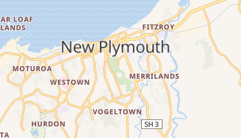 Carte en ligne de New Plymouth