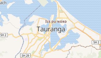 Carte en ligne de Tauranga