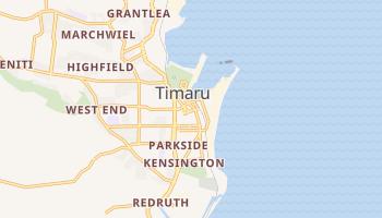 Carte en ligne de Timaru