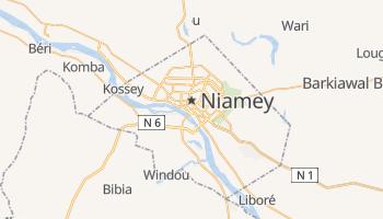 Carte en ligne de Niamey