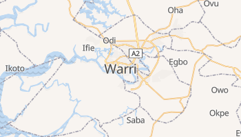 Carte en ligne de Warri