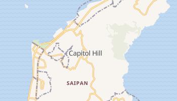 Carte en ligne de Saipan